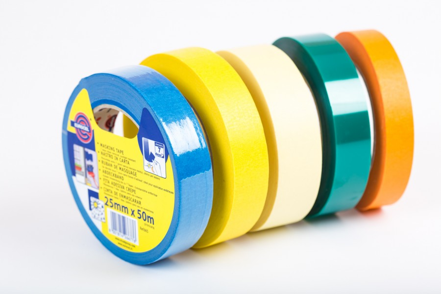 Eurocel Masking Tape Yellow