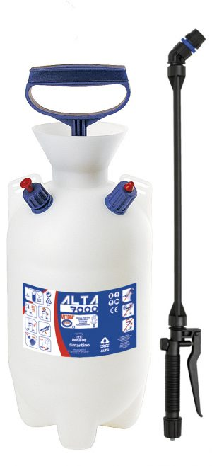 Chemical resistant sprayers